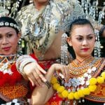 5 Styles of the Traditional Costume for Iban Women